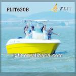 China 22ft center console 115-200hp yamaha or mercury outboard engine FRP fishing boat-FLIT620B