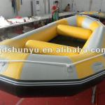 korea material extra 1.8mm bottom inflatable fishing raft-R-430