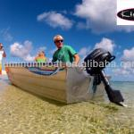 Aluminum boat-410 Adventure Fishing/Simple/Useful/All-Welded/Disassemble-AB-E410