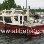Aluminum fishing boat-
