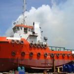 tug, steel tug , tugboat, vessel-