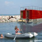 Floating homes - ships - other boats-