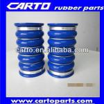 Blue straight turbo silicone rubber hose for truck(coach)-carto turbo silicone rubber hose