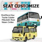 MiniBUS with Customized Seats [29 SEATS][Right-Hand Drive]-