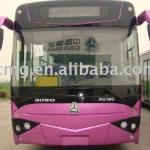 hot selling China famous HOWO BUS 50+ SEATS popular in africa-ZZ6127HQ
