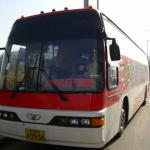 used korean buses-