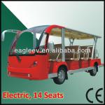 Electric sightseeing bus, 14 seater, CE approved-EG6158K