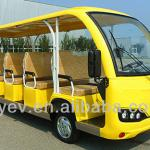 CE approved all-plastic 72V 5kW low floor city sightseeing bus for sale-Q5B GD14Q
