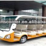 passenger electric sightseeing bus, electric shuttle car-T614