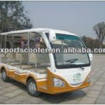 electric sightseeing bus, electric shuttle car-