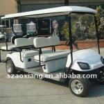 Electric Passenger Bus,6seat Electric Sightseeing car,CE Approval and 1 year warranty-AX-B4+2