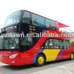 68 seats two floors double decker open top city bus diesel transport bus for sale-DLEVL 1009