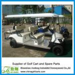 6 seater 48V 4KW electric sight seeing car,electric sightseeing bus-AX-B4+2