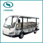 Newest electric shuttle bus CE Approved 14 seats with power-assisted steering-LQY145B
