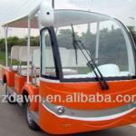 DLEVL1020-14 electric sightseeing shuttle bus on sales-DLEVL1020-14