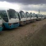leasing of fleet of coaster buses-2011