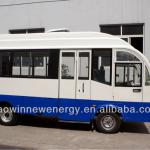 17 seats electric enclosed bus-HW17B
