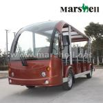 11 Seater electric new buses for sale DN-11 with CE certificate from China-DN-11