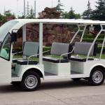 Electric 8 seats electric shuttle bus for sale DN-8F with CE certificate from China-DN-8F