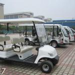 4 seater club car golf cart, seater sightseeing car,electric tourist car,new design 2 seat back-LQY047-LQY047