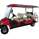 4x2= 6 seater electric club car,airport hotel baggage cargo car, 6 people electric club carts-LQY065-LQY065