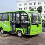 11/14/23 seater enclosed electric passenger shuttle bus-HW-14ML