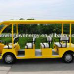 new electric sightseeing bus mini bus-HWJS11