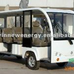 14 seats new electric sightseeing bus-HWT14