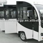 electric sightseeing bus with door 14 passengers HWT14-ML-HWT14-ML