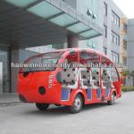 electric sightseeing tour bus 23 seater-HWBS23