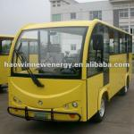 New electric mini bus for tourist with enclosed doors-HWT14-ML