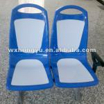 Blue-white double city bus seats-HYZY1014