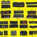 all kinds of Rocker Switch for Yutong Kinglong and other bus-all model