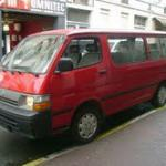 Used Hiace Buses-