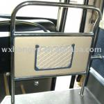 stainless steel guardrail for driver installed in the bus-