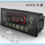 CK200201 12V/24V fully automatic bus air condition control panel-YUTONG parts-
