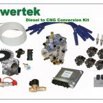 Diesel to CNG conversion kit-