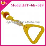Yellow safety handles for bus parts-