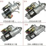 all model of engine starter for Yutong Kinglong-