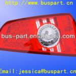 Kinglong bus tail light / Hot sale High quality 12 or 24 volt led tail light for yutong kinglong bus-