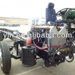 EQ6100K Dongfeng 10m 4x2 bus chassis-