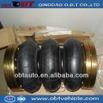 Anti-vibrating suspension air rubber bellows-