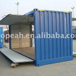 20ft swing door shipping container-