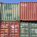 20'ft used containers-
