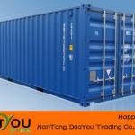 20' ISO Waterproof Shipping Container-