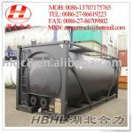 20 m3 Horizontal ISO Oil Heating Bitumen Tank Container-OJYG20-20