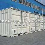 "Special containers for mini set;open tops;open sides;bulk container;extra large container;car carriers;flat racks;-20"" & 40"""