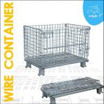 folding wire metal storage wire container-XDR-A003
