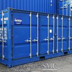 20ft Open Side Shipping Container; (with flexible open side door-