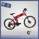 "JSL Cheap CE 26"" Folding Mountain Electric Bike with inner battery-JSL035B"